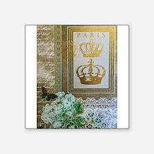 Golden Paris Sticker