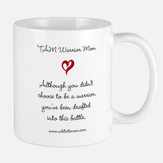 TAM Warrior Mom Mugs