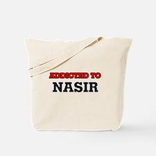 Addicted to Nasir Tote Bag