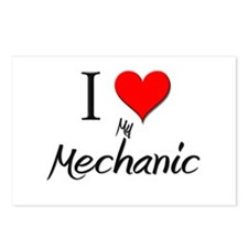 I Love My Mechanic Postcards (Package of 8)