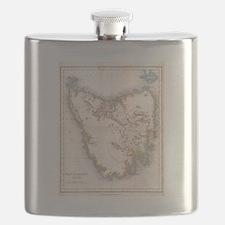 Cute Antique maps Flask