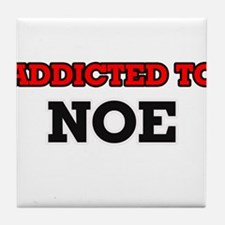 Addicted to Noe Tile Coaster