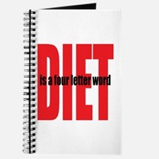 Diet Is A 4-Letter Word Journal