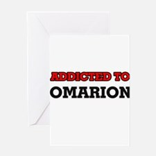 Addicted to Omarion Greeting Cards
