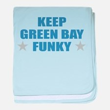 Funny Green bay wi baby blanket