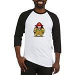 Fire Rescue Penguin Baseball Jersey
