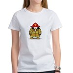 Fire Rescue Penguin Women's T-Shirt