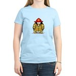 Fire Rescue Penguin Women's Light T-Shirt