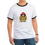 Fire Rescue Penguin Ringer T