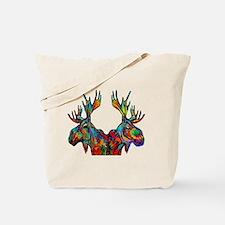 Cute Denali national park Tote Bag
