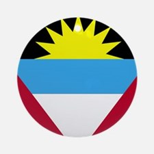 Flag of Antigua and Barbuda Round Ornament