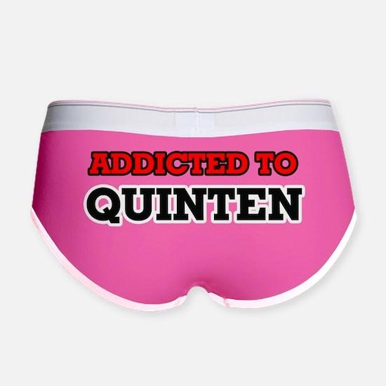 Cute I love quinten Women's Boy Brief