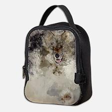 Howling Wolf Neoprene Lunch Bag