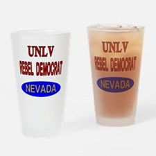 Cute Democrat store Drinking Glass