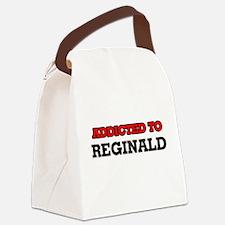 Addicted to Reginald Canvas Lunch Bag