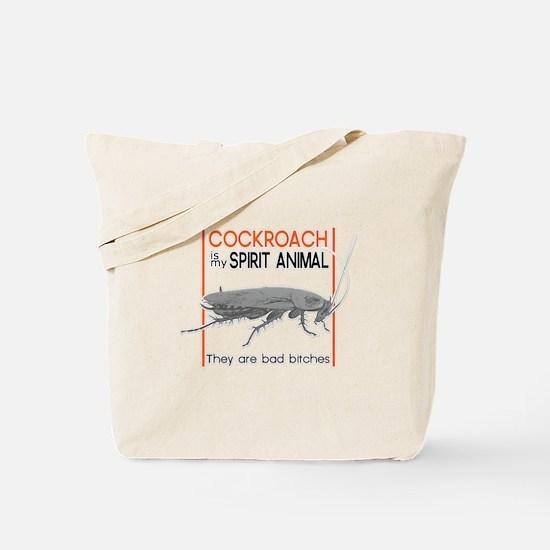 Cockroach Spirit Animal Tote Bag