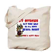 It's Official.' Tote Bag