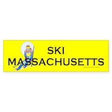 Ski Massachusetts Bumper Sticker