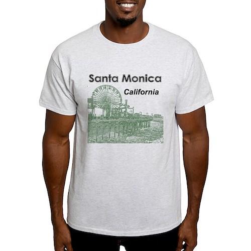 Santa Monica White T-Shirt