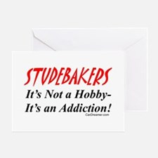 Studebaker Addiction Greeting Cards