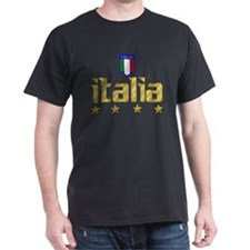 Italia soccer t-shirts 4 Star Italia shirt T-Shirt