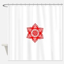 Triple Goddess Lotus Love 03 Shower Curtain