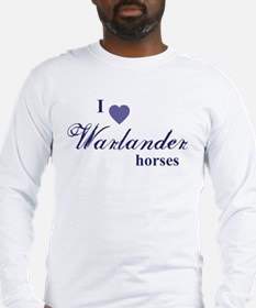 Warlander horses Long Sleeve T-Shirt