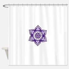 Triple Goddess Lotus Love 08 Shower Curtain