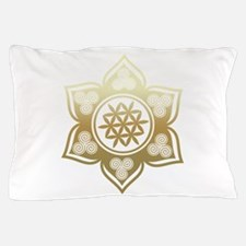 Triple Goddess Lotus Love 02 Pillow Case