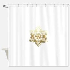 Triple Goddess Lotus Love 02 Shower Curtain