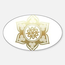Triple Goddess Lotus Love 02 Decal