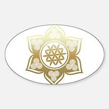Triple Goddess Lotus Love 02 Stickers