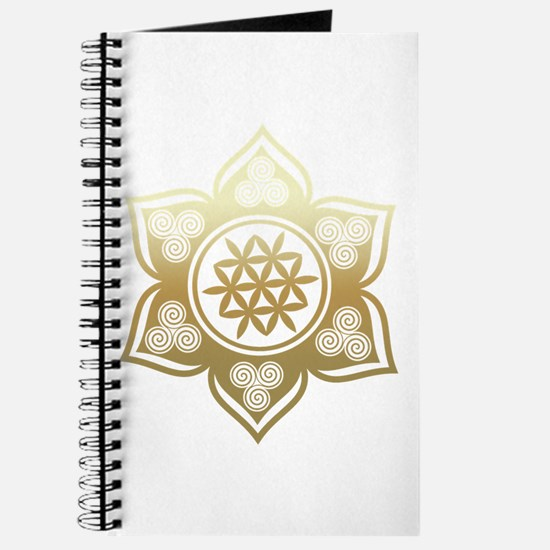 Triple Goddess Lotus Love 02 Journal