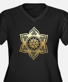 Triple Goddess Lotus Love 02 Plus Size T-Shirt