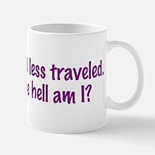I Took the Road Less Traveled Mug