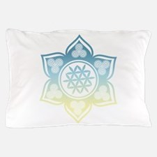 Triple Goddess Lotus Love 12 Pillow Case