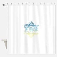 Triple Goddess Lotus Love 12 Shower Curtain