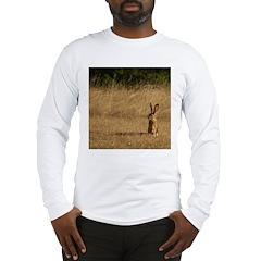 Sitting Jackrabbit Long Sleeve T-Shirt