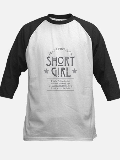Short Girl Baseball Jersey