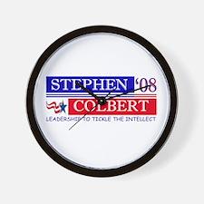 Stephen Colbert Tickles Wall Clock
