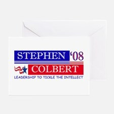 Stephen Colbert Tickles Greeting Cards (Pk of 10)