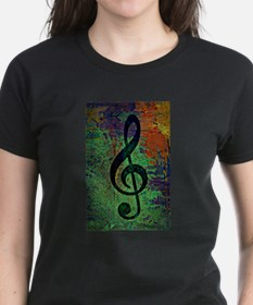 Music Clef Style T-Shirt