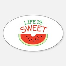 Life Is Sweet Decal