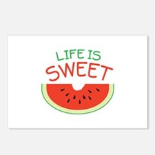 Life Is Sweet Postcards (Package of 8)