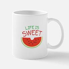 Life Is Sweet Mugs