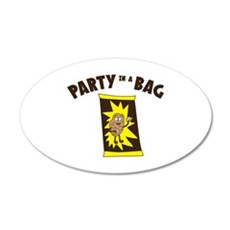 Party In Bag Wall Decal