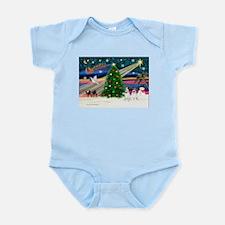 Xmas Magic & JRT pair Infant Bodysuit