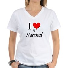 I Love My Marshal Shirt