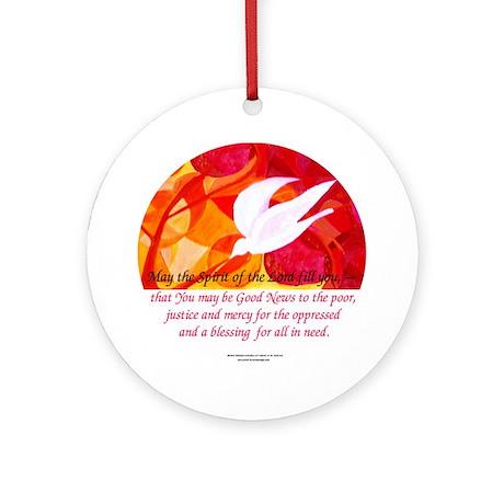Spirit of God Keepsake (Round)