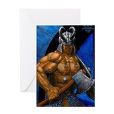 WORGARD VIKING BERSERKIR Greeting Card